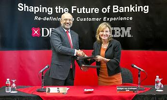 Signature DBS-IBM intelligence artificielle Watson